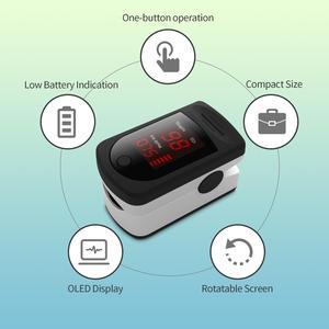 Image 3 - New Digital Fingertip Finger Pulse Oximeter Finger Heart Rate Monitor Oximetro Pulsoximeter Oximeter on the Finger LED Display