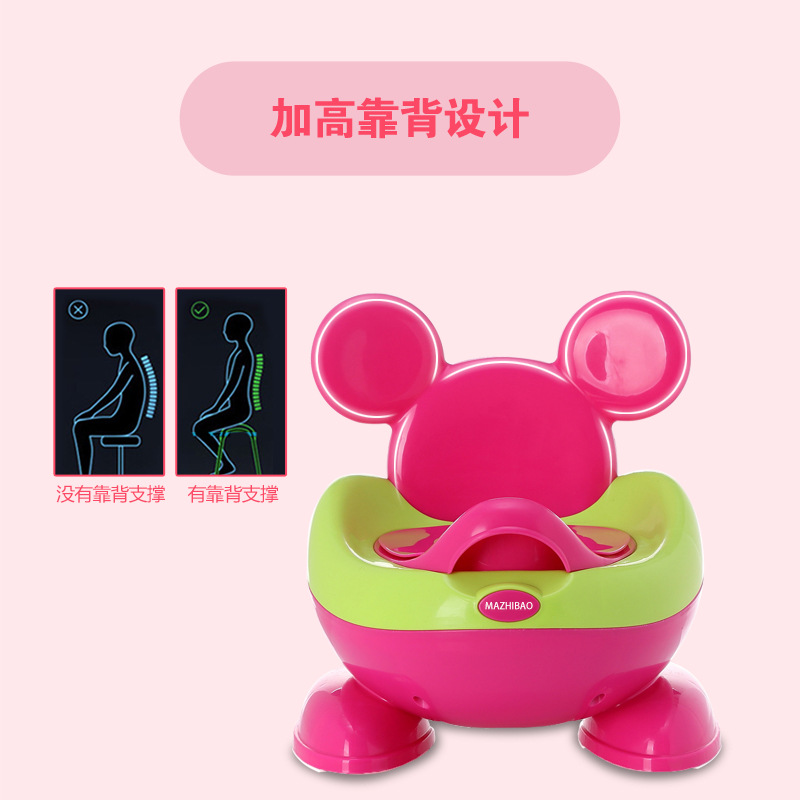 CHILDREN'S Toilet Pedestal Pan Baby Urine Potty Seat Washer Infants Men And Women CHILDREN'S Toilet Toilet Useful Product