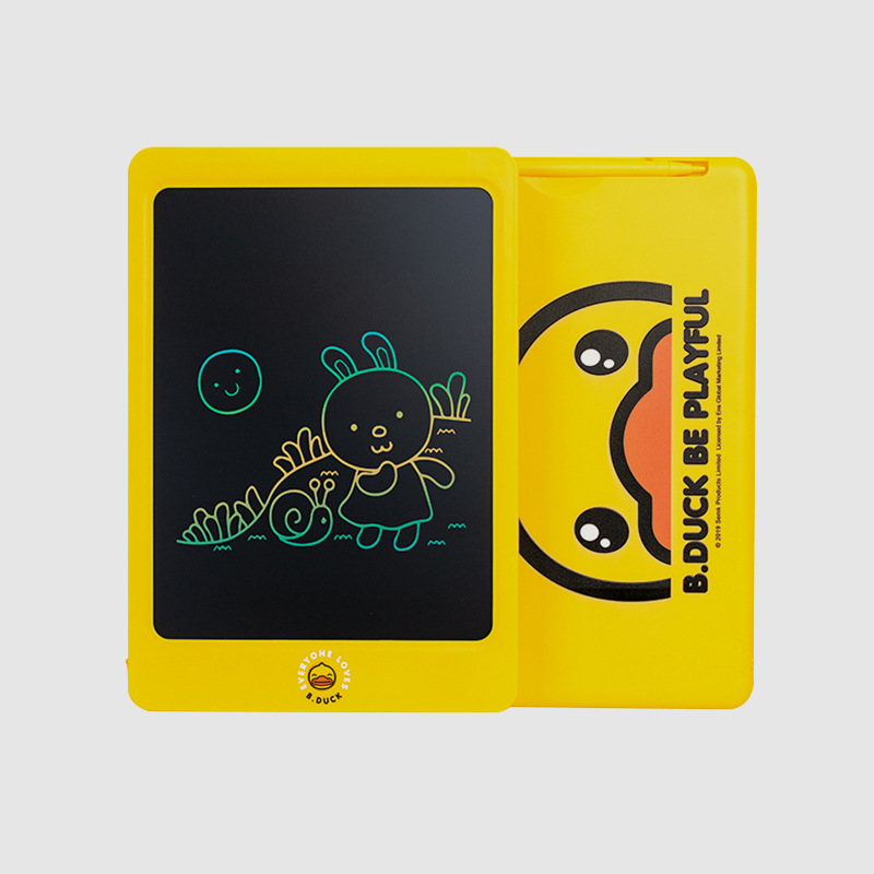 B. Duck Small Yellow Duck Color LCD Display Drawing Board Seismic Shatter-resistant Handwriting Board Painted Graffiti Graphics
