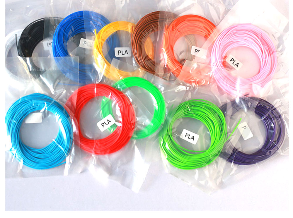 ABS/PLA 3D Pen Filament/Refill Used to Draw 3D Objects
