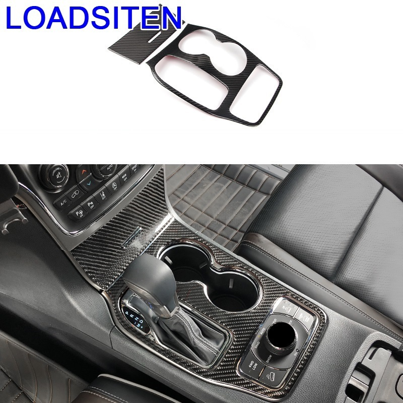 Automobile Chromium Door Handle Control System Cup Navigation Interior Car Styling Accessories 16 17 18 FOR JEEP Grand Cherokee