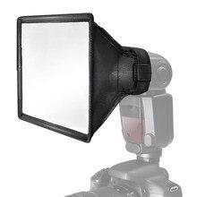 Diffuseur de Flash Portable universel, boîte à lumière Speedlight pour appareil photo DSLR Pentax Minolta Flash