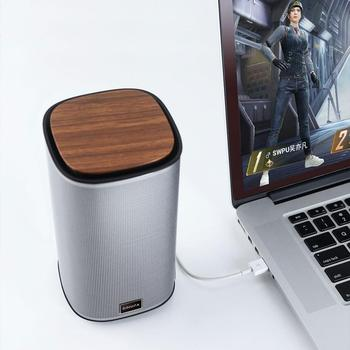 New BINNIFA Desktop Stereo Bluetooth Speaker Music Center USB Sound Card Subwoofer Speakers For The Computer Portable Soundbar 3