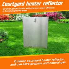 Natural Gas Garden Supplies Patio Heaters for Round Natural Gas Propanes Directional Heat Focusing Reflector