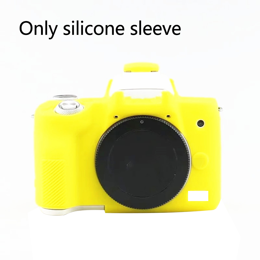 Silicone Camera Cover Protective Case Soft Skin Shockproof Waterproof Full Body Anti Scratch Fashion For Canon  M6 M10 M50