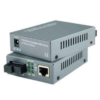 Media Converter Optical Fiber Transceiver Photoelectric Converter rj45 Connector A End HTB-3100A-25KM 100M Single-mode Fiber 1