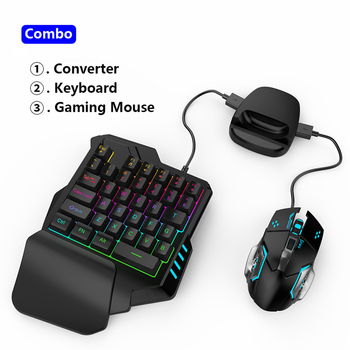 Gamepad Pubg Mobile Bluetooth Android PUBG Controller Mobile Controller Gaming Keyboard Mouse Converter For IOS iPad to PC