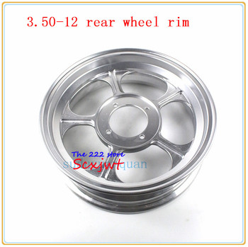For Monkey bike 12 inch wheel hub small pinturicchio for  monkey refires motorcycle aluminum alloy rim felly 3.50-12'' rear rims