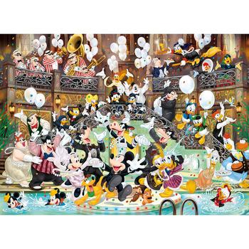 Mickey Mouse 90th Anniversary Puzzle 1000 Piece Educational Toys Highly Difficult Gifts for Kids