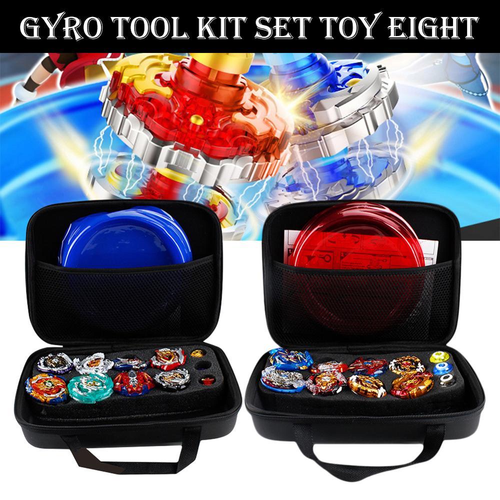Gyro Kit Toy Battle Tops Case Toy Stadium Gyro Burst Launcher Battle Set With Launcher Spinning Top Bey Toys Beyblade Burst