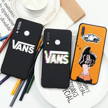 American Skateboard Brand VANS Cool Case For Huawei P40 P30 P20 P Smart Mate 30 20 Lite E Pro Plus 2019 Black Silicne Phone Case(China)