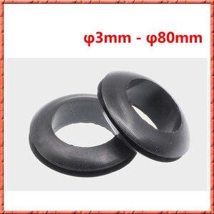 50-500 sztuk/partia M3 ~ M80mm wąż niestandardowe części uszczelnienie zestaw z przypadku pierścieniem zabezpieczającym gumowa przelotka uszczelka dla chroni drutu wiązki przewodów zasilających, do cewki