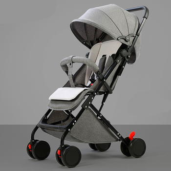 цена 6 free gifts Portable baby stroller can sit reclining baby child stroller ultra light umbrella cart folding simple stroller онлайн в 2017 году