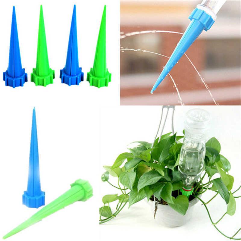 جديد وصول التلقائي حديقة مخروط Watering سبايك النبات زهرة المائية زجاجة نظام الري ألوان عشوائية 13.5*3 سنتيمتر