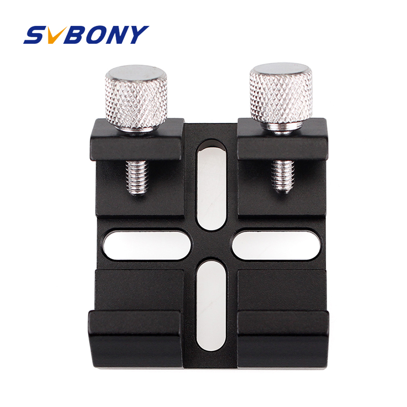 SVBONY Finderscope Dovetail Slot Multi Function For Astronomy Optics Monocular Binoculars Telescope Finder Mirror Dovetail Plate