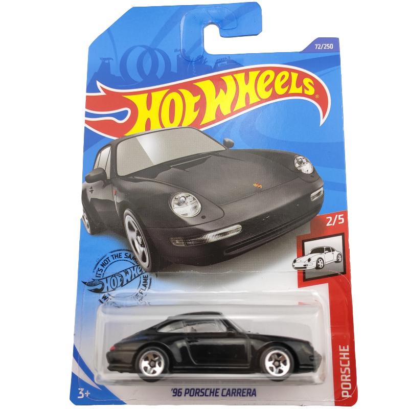 2020-72 Hot Wheels 1:64 Car 96 PORSCHE CARRERA   Metal Diecast Model Car Kids Toys Gift