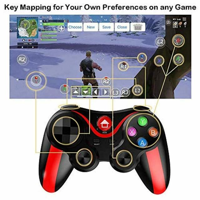 Pro Ios & Android Wireless Bluetooth Gamepad Mobile Games Controller For Pubg For IPhone HUAWEI XIAOMI Android 2