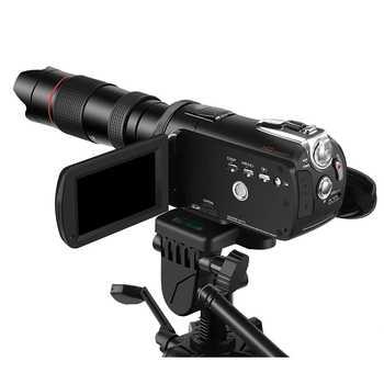 Telescopio para cámara AC3 AC5 AC7 lente telescopio 12X para cámara DSLR videocámara Smartphone accesorios externos para cámaras ordro