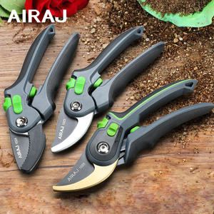 AIRAJ Pruning Shears Household Large Opening Garden Scissors Can Trim 28mm Fruit Tree Flowers Plastic Tube Trimming Tool
