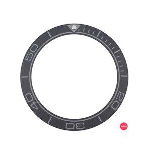 Image 1 - Новинка 41,5 мм матовый черный/синий высококачественный керамический Безель вставка для мужских часов для дайвера заменяемые аксессуары