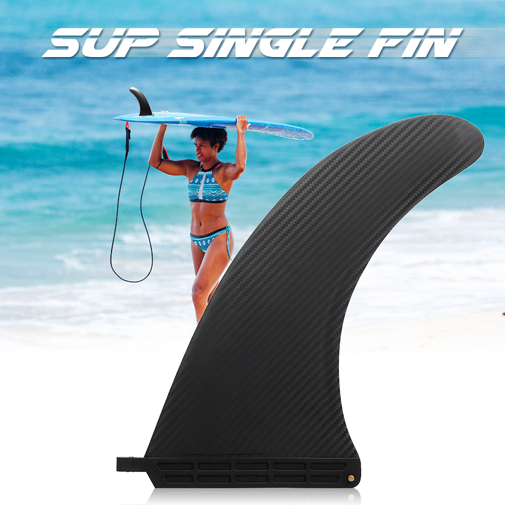6.5//9inch Portable Nylon Fibre Surfboard Surf Fin Surfing Accessory Replacement