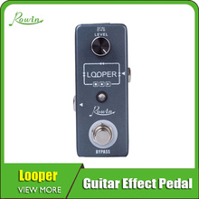 цена на Rowin Looper Guitar Pedal Unlimited Overdubs 10m Of Looping With USB To Ioop
