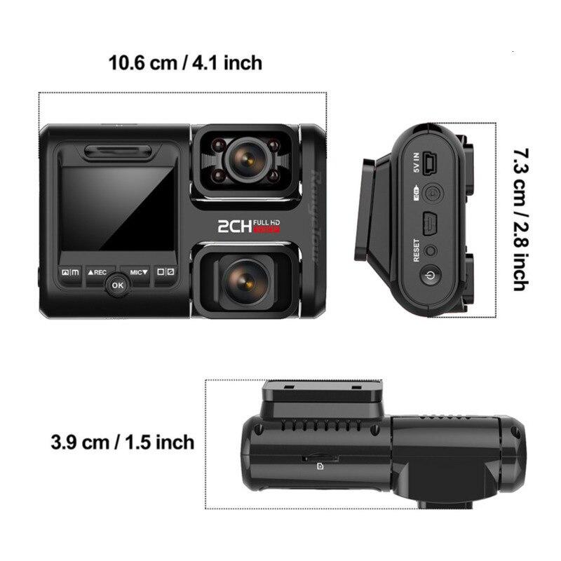 2K 2160P Wifi Gps Dash Cam Dual Lens Auto Dvr Nachtzicht Auto Camera Verborgen Loop Recording Dvr sony Sensor Recorder Camcorder - 6
