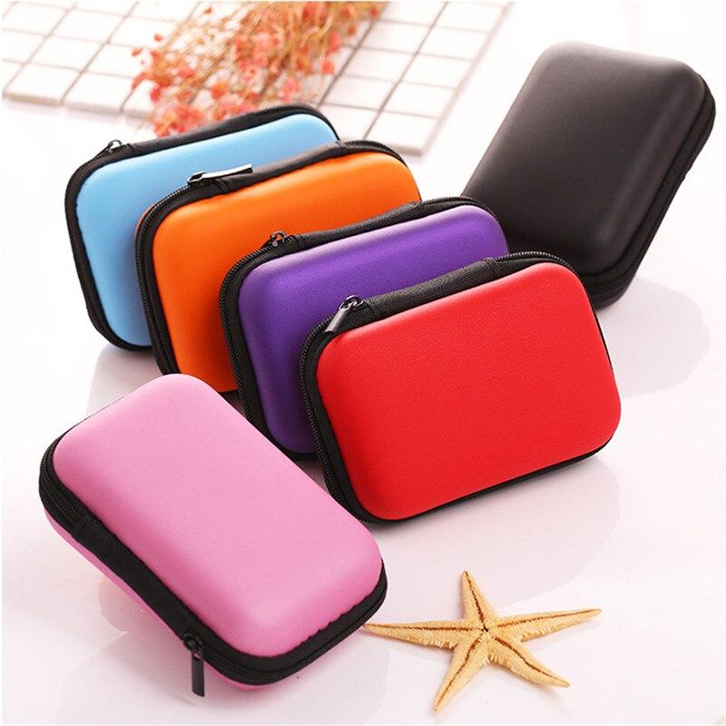 7 cores armazenamento caso duro para cartões de jogos de placa de negociação para crianças ou jogo de viagem zíper levar casos de eva fãs