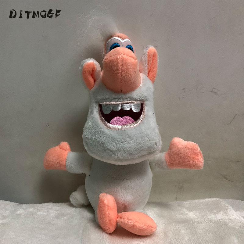 Russia Cartoon White Pig Booba Buba Plush Toys Gift Doll Toy 1