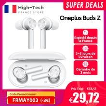 OnePlus bourgeons Z écouteur sans fil Version mondiale TWS Bluetooth 5.0 IP55 20 heures d'autonomie pour OnePlus 8T Nord 8 Pro N10,Code promotionnel:FRMAY003