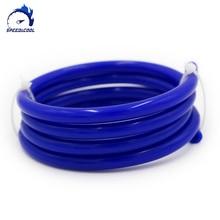 "2 M מטרים ואקום סיליקון צינור צינור צינור מזהה 2mm 3mm 4mm 5mm 6 מ""מ 8mm כחול שחור אדום"
