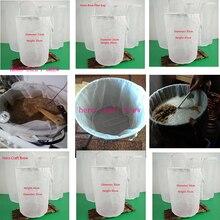 Пиво варить сумка самогон фильтр мешок для домашнее ПИВОВАРЕНИЕ со строкой солодового пюре сумка
