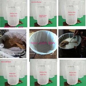 Beer Brew Bag Home Brew Filter Bag For Homebrewing With String Malt Mash Bag(China)