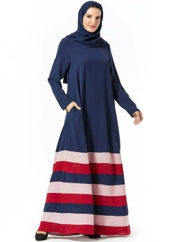 Abaya Muslim Fashion Women Party Hijab Dress Plus Size Islamische Kleidung