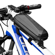 Hot Mountain Bike Road Bicycle Mobile Phone Bag Front Frame Tube Pouch Storage MVI-ing