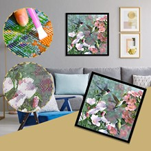 DIY embroidered home decor contemporary art gift bead embroidery blank canvas Pop art beaded picture craft kit Warhol modern art pattern