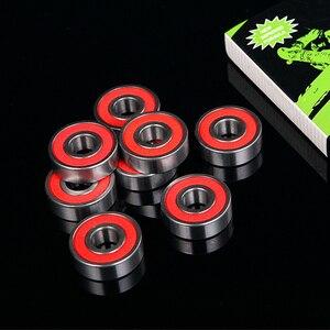 Image 5 - 8 قطعة 608RS السيراميك سرعة العجلات تحمل ل إصبع سبينر سكيت سكيت الرول