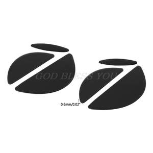 Image 5 - 2 Sets/Pack 0.6mm Mouse Feet mouse Skates For Logitech MX518 /G400 /G400S Mouse Drop Shipping