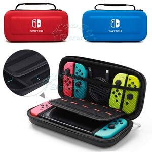Image 2 - Accessoires de commutateur nintention étui de transport Film de protection décran étui rigide pour PC casquettes de pouce sac à main Nintendoswitch pour Nintendo Switch