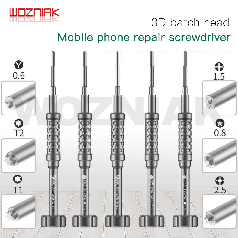 Original Best 898 3D Precision Screwdriver Batch Header For Iphone Android Mobile Phone Dismantling Bolt Driver Tool Same Qianli