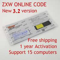 En ligne ZXW Team 3.2 ZXWTEAM logiciel ZXWSoft Code d'autorisation numérique Zillion x diagramme de Circuit de travail pour téléphone téléphones Android