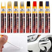 11 farben Auto Füllen Farbe Stift Werkzeug Wasserdichte Touch Up Autolack Reparatur Mantel Malerei Scratch Klar Remover Keine Toxischen durable Werkzeug