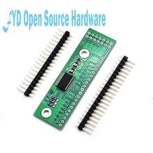 1 pièces MCP23017 I2C Interface 16bit e/s Module dextension carte de broche IIC à GIPO convertisseur 25mA1 alimentation dentraînement pour Arduino