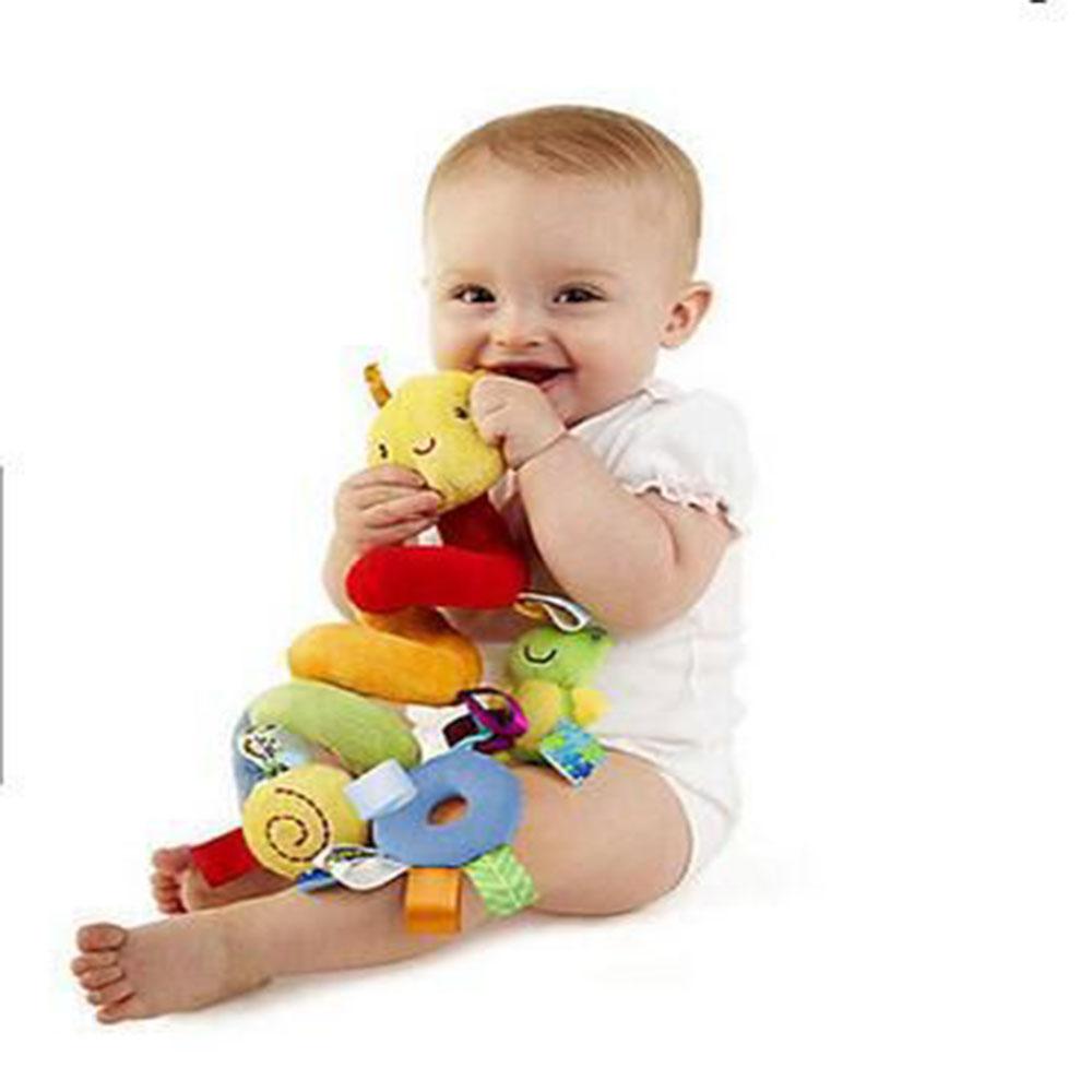 Baby Toy Newborns Music Bed Around Bed Bell Bed Hanging Soft Fabric Plush Bedside Bell Rattle Bedside Bell
