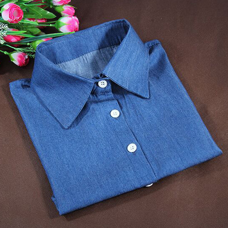 Women Lapel Fake False Collar Detachable Half Shirt False Collar