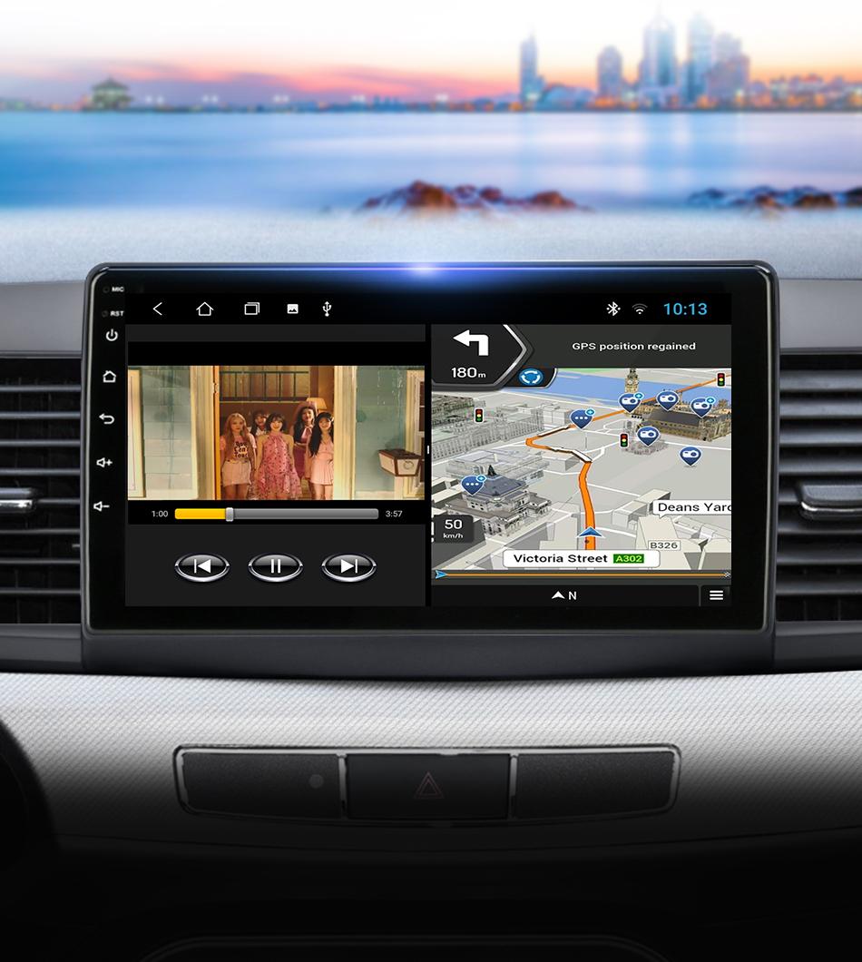 Автомобильный радиоприемник ts6 android100 4g + 64g 2 din для
