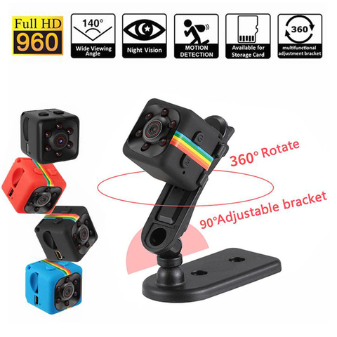 Limited Time Reserve Price Clearance Mini Camera HD 960P Sensor Night Small Camera Recorder Camcorders Support Motion Tracking Pakistan