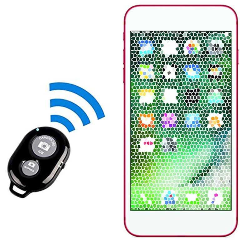 Bluetooth Wireless Remote Shutter Camera Shutter Speed Phone Remote Control Steve One-foot Self-timer Stick U1L5