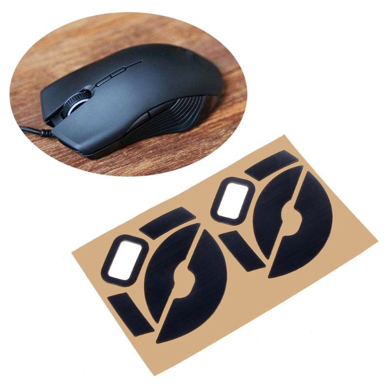 2Sets/Pack Original Hotline Games Competition Level Feet Mouse Skates Gildes For Razer Lancehead/Lancehead Wireless Mouse 0.6mm