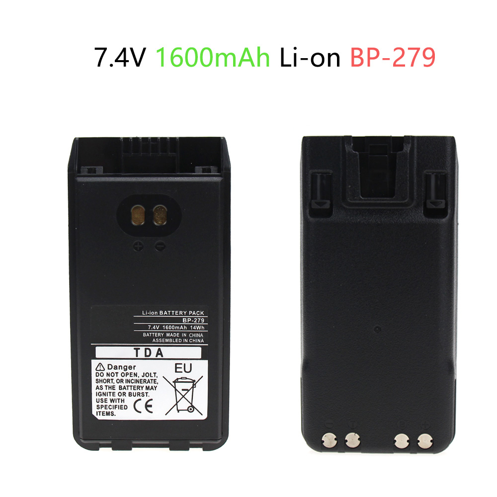 Replacement Two-Way Radio Battery For  BP-279, BP-280, BP-280LI F1000, F2000, F1000D, F2000D, F1000S, F2000T